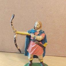 Figuras de Goma y PVC: JECSAN. SERIE VIKINGOS. ORIGINAL AÑOS 50 EN GOMA. NO REAMSA.. Lote 227962885