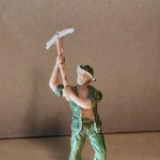 Figuras de Goma y PVC: JECSAN. PRISIONERO (PICO). SERIE RIO KWAI. NO REAMSA. NO PECH.. Lote 227972365