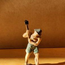Figuras de Goma y PVC: JECSAN. PRISIONERO (MAZO). SERIE RIO KWAI. NO REAMSA. NO PECH.. Lote 227972558