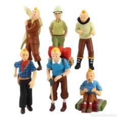 Figuras de Goma y PVC: LOTE FIGURAS DE TINTIN. Lote 228004342