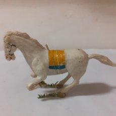 Figurines en Caoutchouc et PVC: FIGURA CABALLO ESTEREOPLAST POSIBLE COSACO VERDE. Lote 228005095