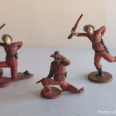 Figuras de Goma y PVC: POLICÍA MONTADA DE GOMA GAMA. Lote 228140465