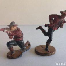 Figuras de Goma y PVC: POLICÍA MONTADA DE GOMA GAMA. Lote 228140600