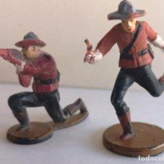 Figuras de Goma y PVC: POLICÍA MONTADA DEL CANADA DE GOMA GAMA. Lote 228141015