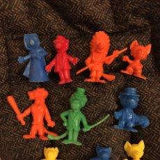 Figuras de Goma y PVC: FIGURAS DUNKIN WILLY FOG. Lote 228212355