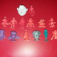 Figuras de Goma y PVC: CONJUNTO DE FIGURAS DUNKIN HELADOS RAJA. Lote 228218745