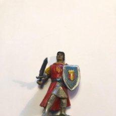 Figuras de Goma y PVC: ESTEREOPLAST CAPITAN TRUENO DE LA CASA JIN DE GOMA ORIGINAL PINTURA CON SU ESPADA Y ESCUDO. Lote 228240105