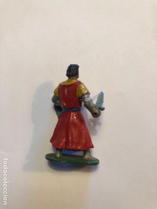 Figuras de Goma y PVC: Estereoplast Capitan Trueno de la casa JIN de goma original pintura con su espada y escudo - Foto 2 - 228240105