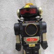 Figuras de Goma y PVC: ROBOT ANTIGUO DE LOS 80 OMNI MODEL -B 2 MADE IN HONG CONG DE PILAS MEDIDA ALTO 26CM Y ANCHO 14 CM. Lote 263100775
