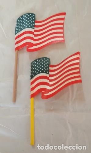 FIGURAS PVC BANDERAS USA - ACCESORIOS (Juguetes - Figuras de Goma y Pvc - Comansi y Novolinea)