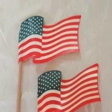 Figuras de Goma y PVC: FIGURAS PVC BANDERAS USA - ACCESORIOS. Lote 228297250
