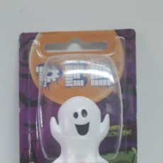 Dispensador Pez: DISPENSADOR CARAMELOS PEZ FANTASMA HAPPY HALLOWEEN. Lote 228318475