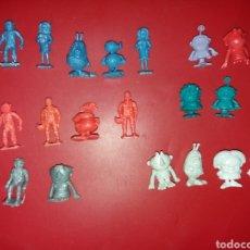 Figuras de Goma y PVC: LOTE DE FIGURAS DUNKIN ESPACIAL HELADOS RAJÁ. Lote 228356085