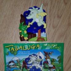 Figuras Kinder: FIGURA KINDER FERRERO ANTIGUA PUZZLE 3D PUZLE DRAGONES +BPZ MUÑECO COLECCIÓN AÑOS 80 90 PREMIUM. Lote 228364725