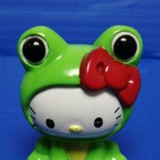 Figuras Kinder: FIGURA TIPO KINDER HELLO KITTY RANA SANRYO. Lote 228374070