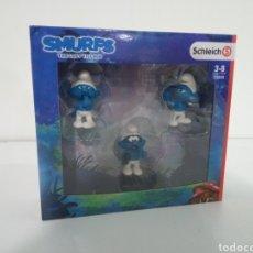 Figuras de Goma y PVC: SCHLEICH - SMURFS - THE LOST VILLAGE 20800. Lote 228422870