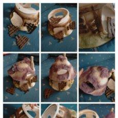 Figuras de Goma y PVC: BULLY BULLYLAND CASA BLANCANIEVES Y 7 ENANITOS, PITUFOS O SIMILAR . GRAN TAMAÑO - IDEAL BELEN. Lote 228452030