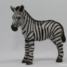 Figuras de Goma y PVC: ANIMALES SALVAJES SCHLEICH 14146 CEBRA CRIA POTRO. Lote 228454893