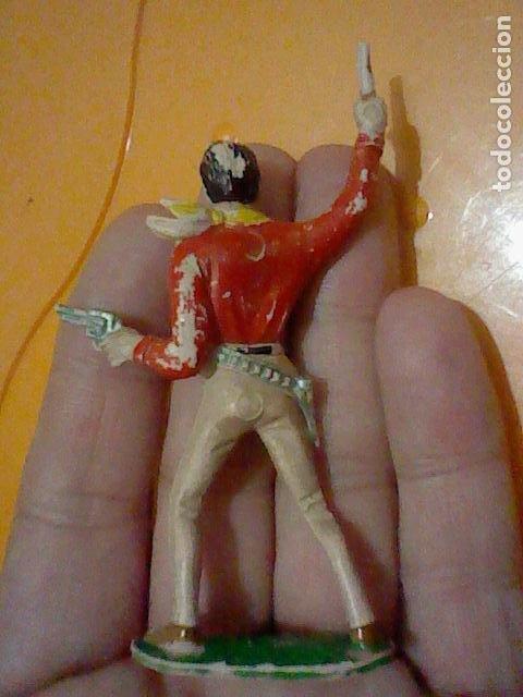 Figuras de Goma y PVC: VAQUERO PLASTICO FIGVRA COMANSI 7,5 CMS CREO GRAN CHAPARRAL JVGADO - Foto 2 - 228471640