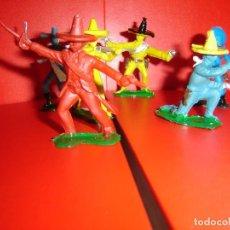 Figuras de Goma y PVC: MEXICANOS COMANSI. Lote 228476715