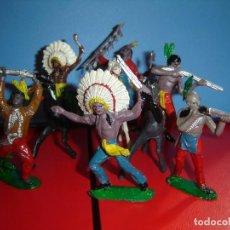 Figuras de Goma y PVC: INDIOS COMANSI. Lote 228477940