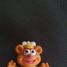 Figuras de Goma y PVC: FIGURA PVC LOS TELEÑECOS FOZZIE EL OSO LOS MUPPETS AÑOS 80. Lote 228503210