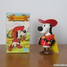 Figuras de Goma y PVC: D'ARTACAN DARTACAN Y LOS 3 TRES MOSQUEPERROS FIGURA A CUERDA PREMIUM PROMOCIONAL DANONE 1981. Lote 228507025