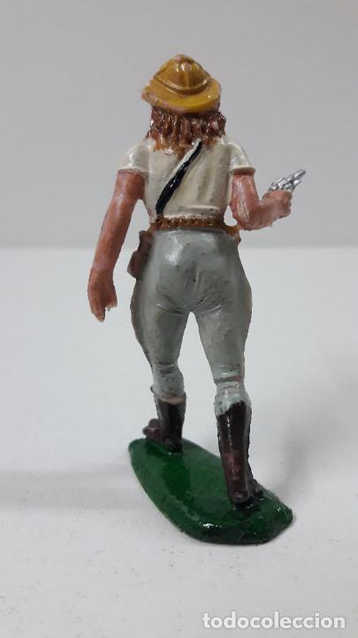 Figuras de Goma y PVC: EXPLORADORA - CAZADORA . REALIZADA POR TEIXIDO . SERIE SAFARI . ORIGINAL AÑOS 60 - Foto 2 - 228573865