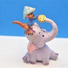 Figuras de Goma y PVC: FIGURA EN GOMA/PVC DE HEFFALUMP. PERSONAJE DE WINNIE THE POOH. Lote 228585250
