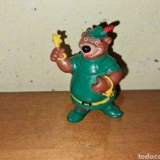 Figuras de Goma y PVC: FIGURA PVC GOMA ROBIN HOOD DISNEY BULLYLAND PINTADA A MANO MUÑECO COLECCIÓN DIBUJOS. Lote 228671300