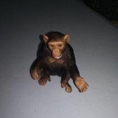 Figurines en Caoutchouc et PVC: SCHLEICH FIGURA DE PVC MONO CHIMPANCE SERIE ANIMALES SALVAJES SAFARI ENRLAG. Lote 228957460