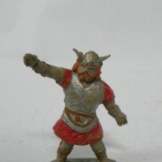 Figuras de Goma y PVC: VIKINGO DE ESTEREOPLAST - JIN, REALIZADO EN GOMA, AÑOS 50.. Lote 228998115