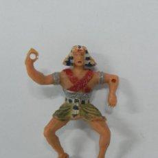 Figurines en Caoutchouc et PVC: ANTIGUA FIGURA DE ESTEREOPLAST, EL FARAÓN SEPTA, AÑOS 60,. Lote 228998310