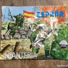 Figuras de Borracha e PVC: MONTAPLEX ESPAÑA INFANTERIA 105 SOBRE CERRADO. Lote 229096745