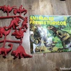 Figuras de Goma y PVC: MONTAPLEX ANIMALES PREHISTORICOS 223. Lote 229104895