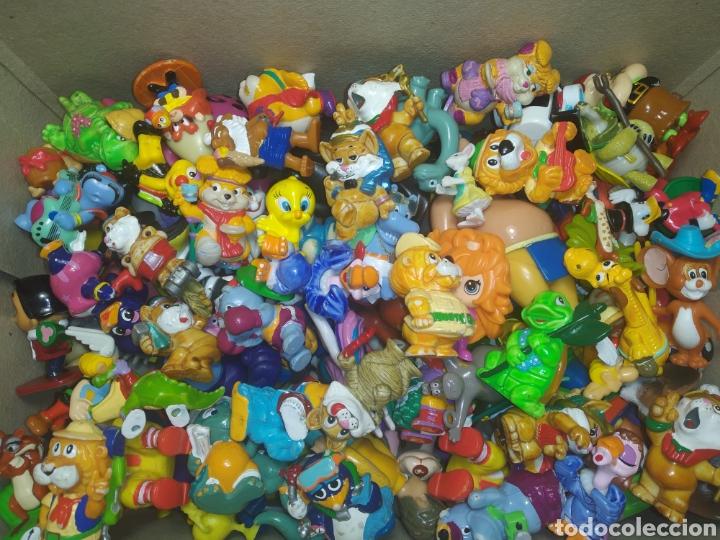 LOTE DE KINDER FERRERO Y VARIOS (Juguetes - Figuras de Gomas y Pvc - Kinder)