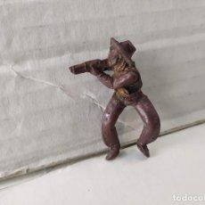 Figurines en Caoutchouc et PVC: FIGURA DE PLÁSTICO VAQUERO A CABALLO TEIXIDO. Lote 229226900