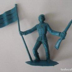 Figuras de Goma y PVC: SOLDADOS DEL MUNDO ALEMÁN ABANDERADO Nº1060 COMANSI AÑOS 70. Lote 229304590