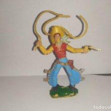 Figuras de Goma y PVC: LAFREDO VAQUERO TAMAÑO GRANDE. Lote 229376375