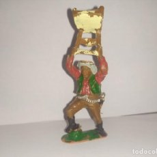 Figurines en Caoutchouc et PVC: LAFREDO VAQUERO CON SILLA. Lote 229377725
