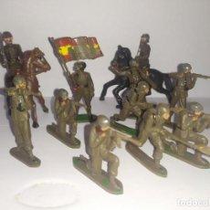 Figurines en Caoutchouc et PVC: SOLDADOS ESPAÑOLES TEIXIDO AÑOS 50. Lote 229484730