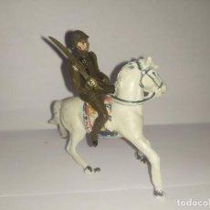 Figurines en Caoutchouc et PVC: SOLDADO A CABALLO TEIXIDO AÑOS 50. Lote 229485960