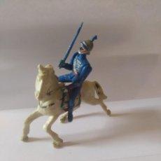 Figurines en Caoutchouc et PVC: SOLDADO A CABALLO TEIXIDO AÑOS 50. Lote 229486055