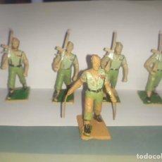 Figuras de Goma y PVC: .FIGURAS REAMSA DESFILE SOLDADOS ESPAÑOLES LEGIÓN LEGIONARIOS. Lote 229670905