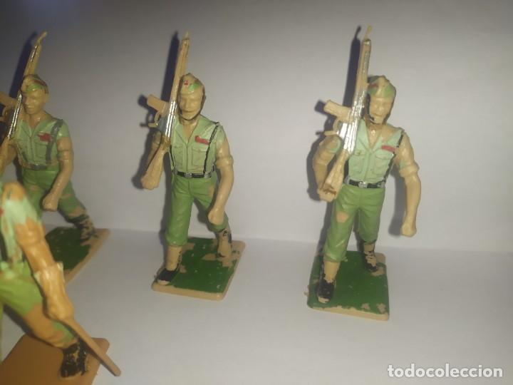 Figuras de Goma y PVC: .figuras reamsa desfile soldados españoles legión legionarios - Foto 3 - 229670905