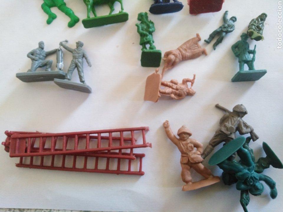 Figuras de Goma y PVC: Lote figuras montaplex - Foto 3 - 229680095