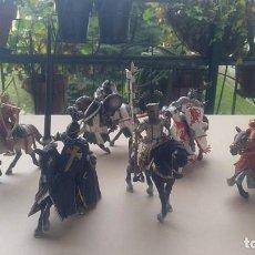 Figuras de Goma y PVC: 5 FIGURAS SCHLEICH Y 1 PAPO EN PERFECTO ESTADO. COLECCION ÚNICA 5 FIGURAS SCHLEICH Y 1 PAPO. Lote 229859360