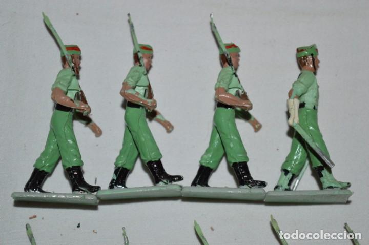 Figuras de Goma y PVC: LA LEGION - Antiguo/vintage - 9 Soldados desfilando - REAMSA y GOMARSA - ¡Mira fotos! - Foto 8 - 230052005