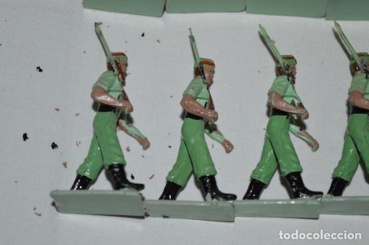 Figuras de Goma y PVC: LA LEGION - Antiguo/vintage - 9 Soldados desfilando - REAMSA y GOMARSA - ¡Mira fotos! - Foto 13 - 230052005