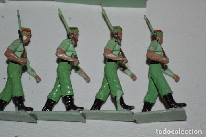 Figuras de Goma y PVC: LA LEGION - Antiguo/vintage - 9 Soldados desfilando - REAMSA y GOMARSA - ¡Mira fotos! - Foto 18 - 230052005